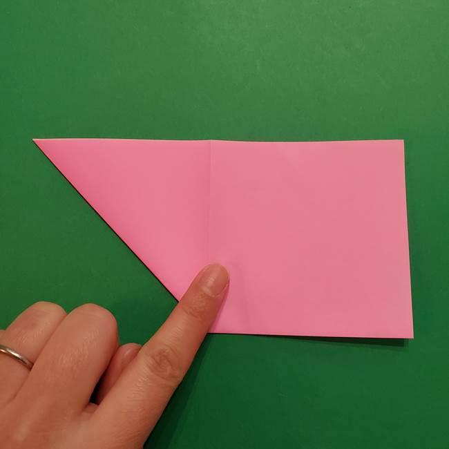 ヤドンの折り紙の折り方・作り方(6)