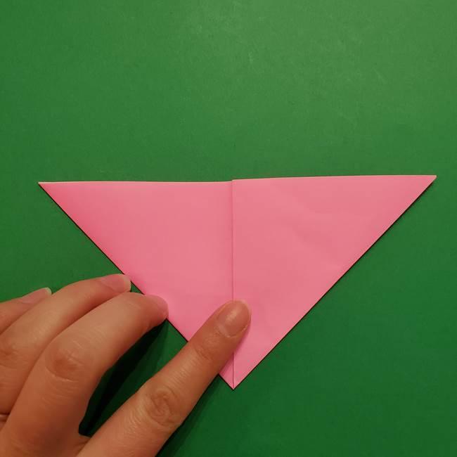 ヤドンの折り紙の折り方・作り方(7)