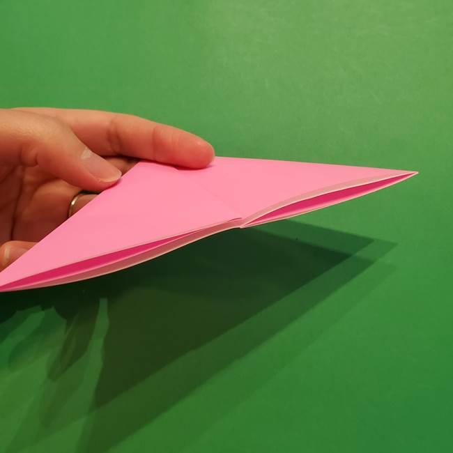 ヤドンの折り紙の折り方・作り方(8)