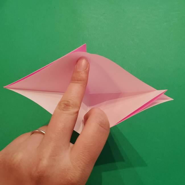 ヤドンの折り紙の折り方・作り方(9)