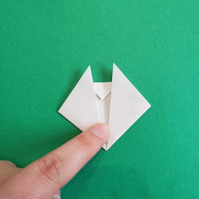小トトロの折り紙の作り方折り方 (5)