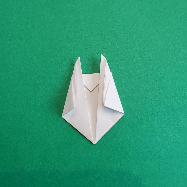 小トトロの折り紙の作り方折り方 (6)