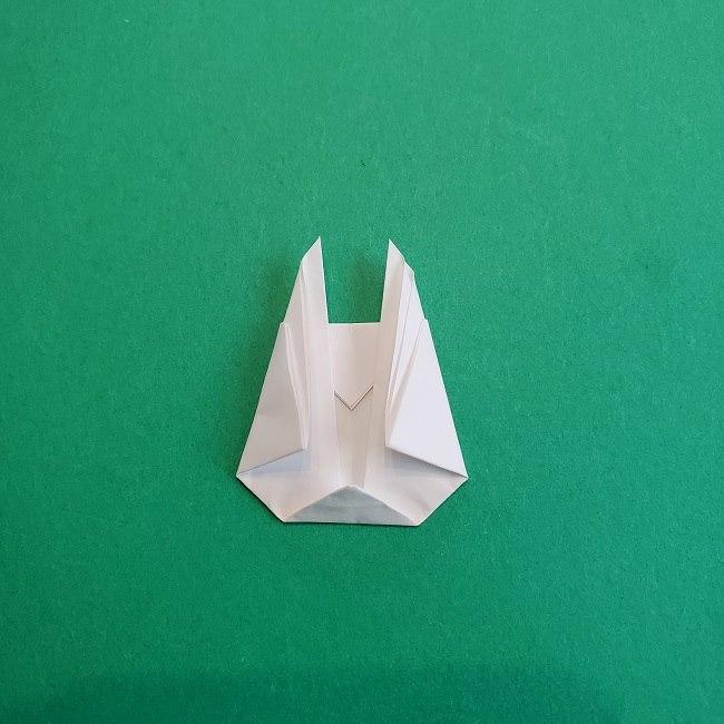 小トトロの折り紙の作り方折り方 (7)