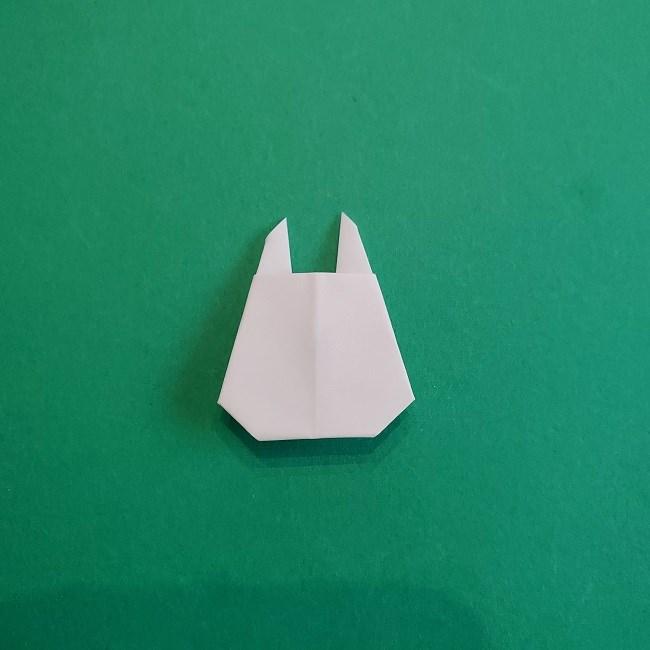 小トトロの折り紙の作り方折り方 (8)
