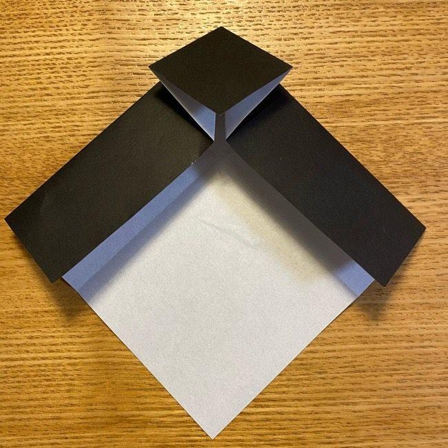 折り紙のカオナシ*折り方作り方 (11)