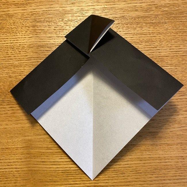 折り紙のカオナシ*折り方作り方 (13)