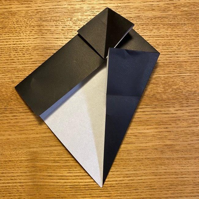 折り紙のカオナシ*折り方作り方 (14)