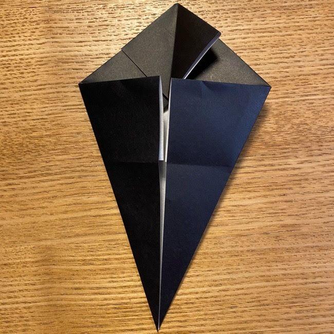 折り紙のカオナシ*折り方作り方 (15)