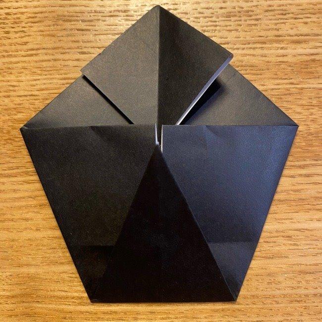 折り紙のカオナシ*折り方作り方 (16)
