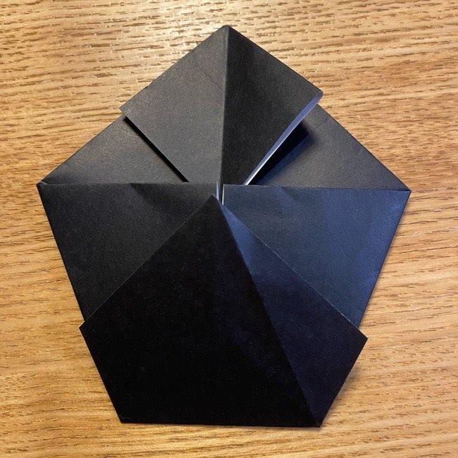 折り紙のカオナシ*折り方作り方 (18)