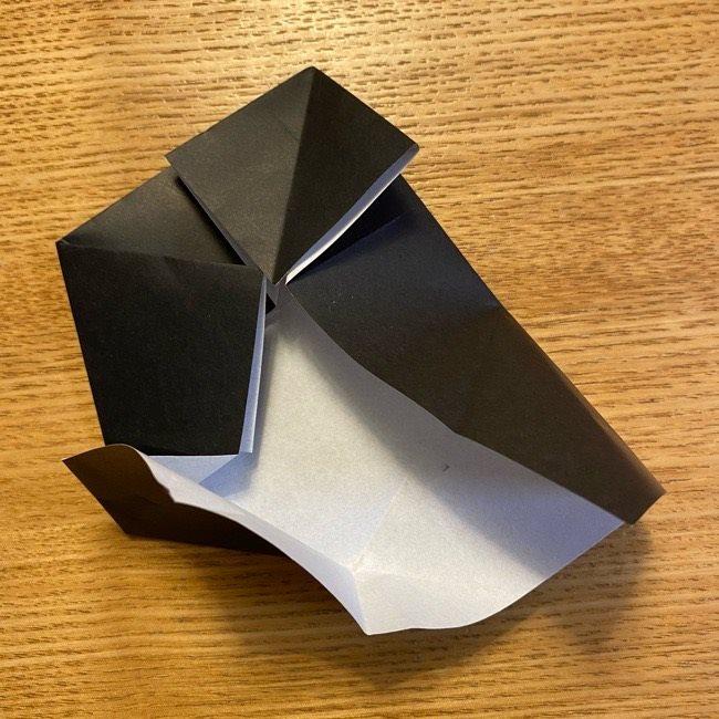 折り紙のカオナシ*折り方作り方 (19)