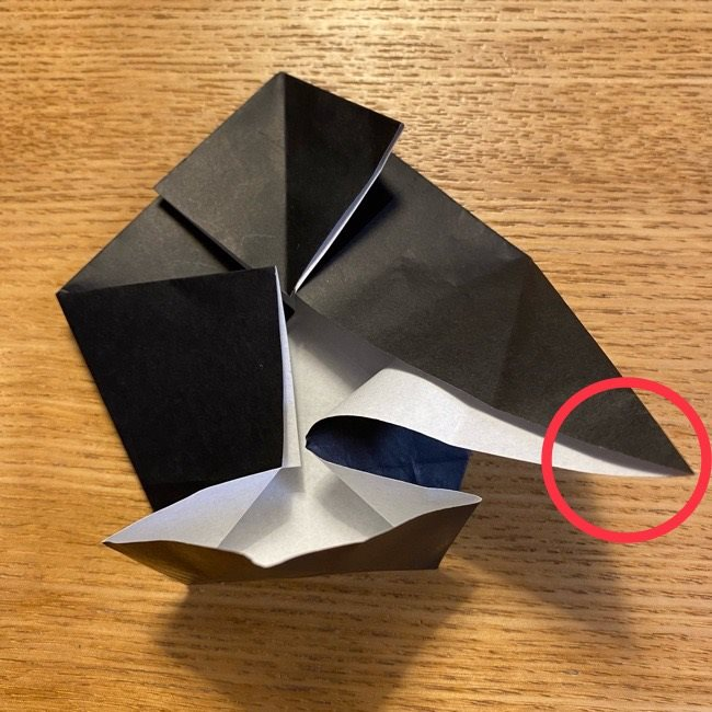 折り紙のカオナシ*折り方作り方 (20)