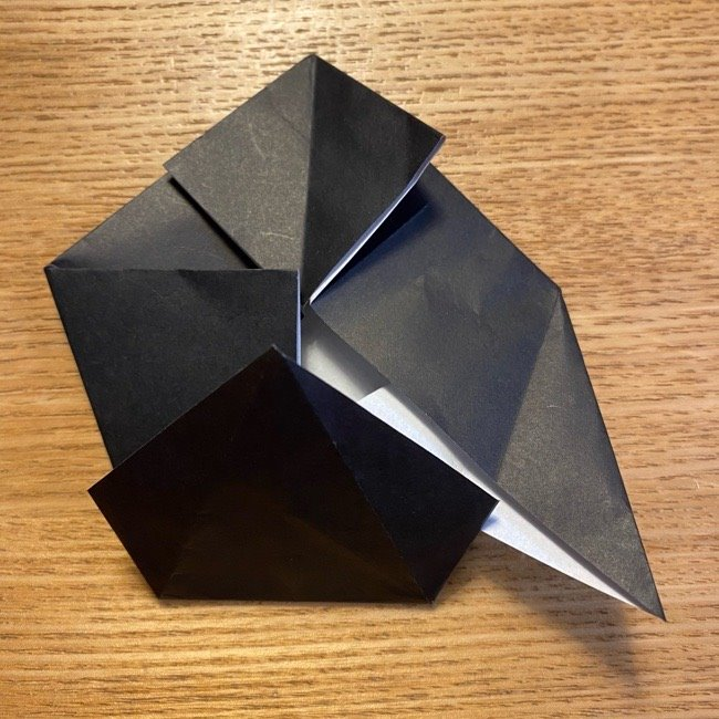 折り紙のカオナシ*折り方作り方 (21)