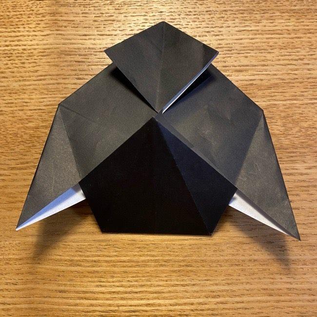 折り紙のカオナシ*折り方作り方 (22)