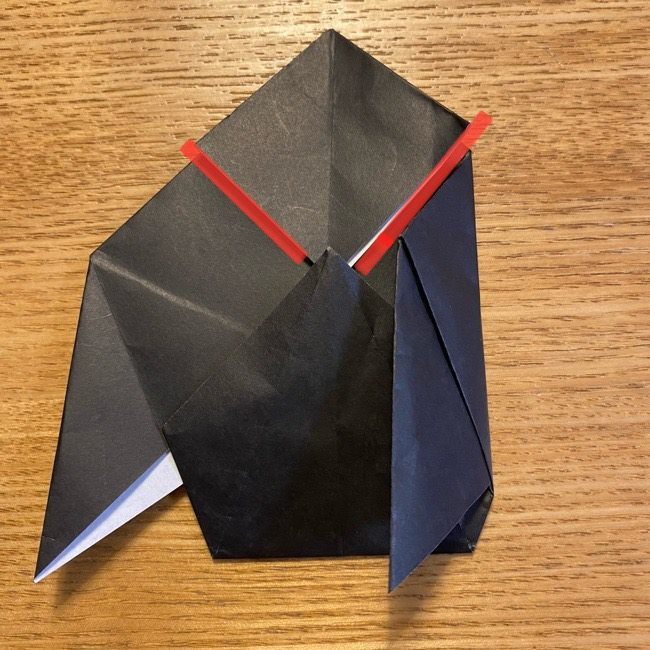 折り紙のカオナシ*折り方作り方 (23)