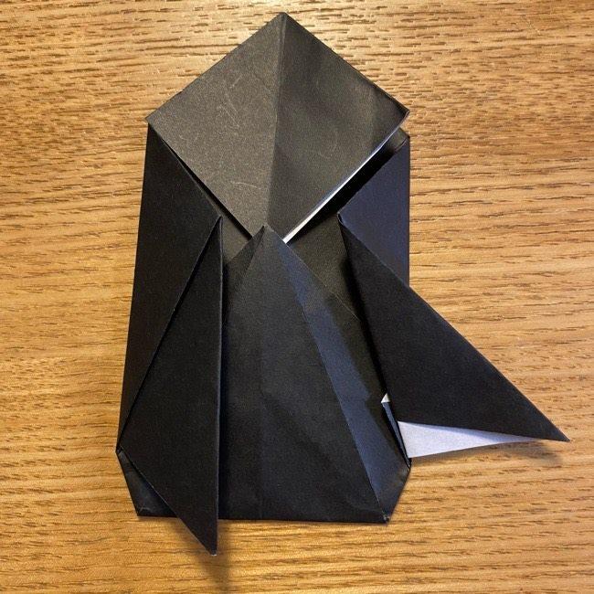 折り紙のカオナシ*折り方作り方 (25)