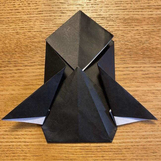 折り紙のカオナシ*折り方作り方 (26)