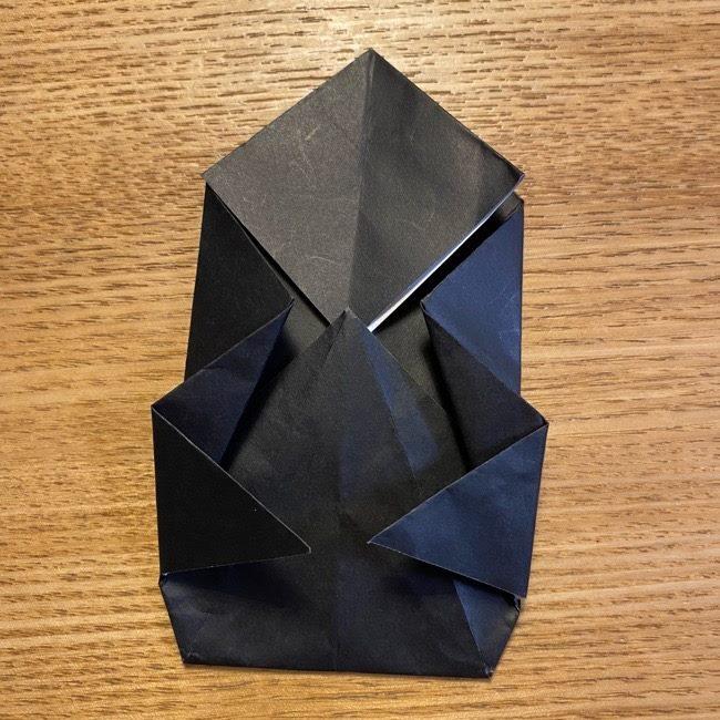 折り紙のカオナシ*折り方作り方 (28)