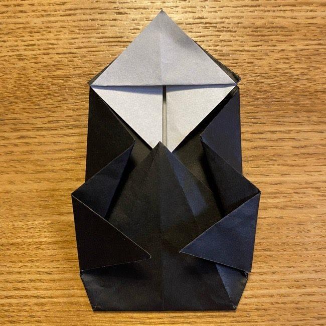 折り紙のカオナシ*折り方作り方 (29)