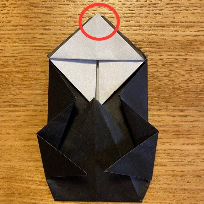 折り紙のカオナシ*折り方作り方 (30)