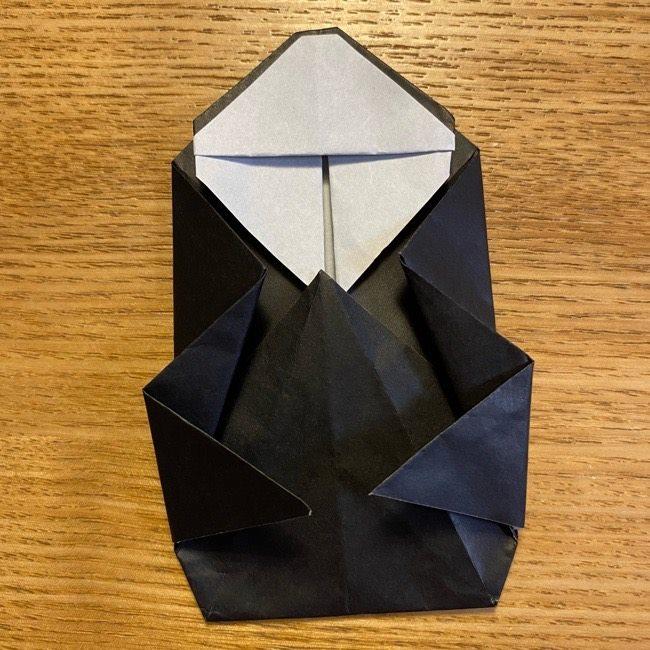 折り紙のカオナシ*折り方作り方 (32)
