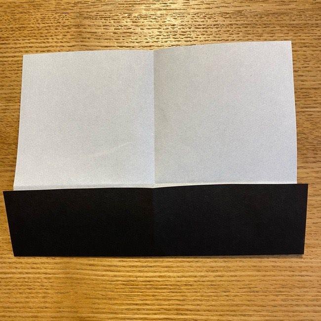 折り紙のカオナシ*折り方作り方 (5)