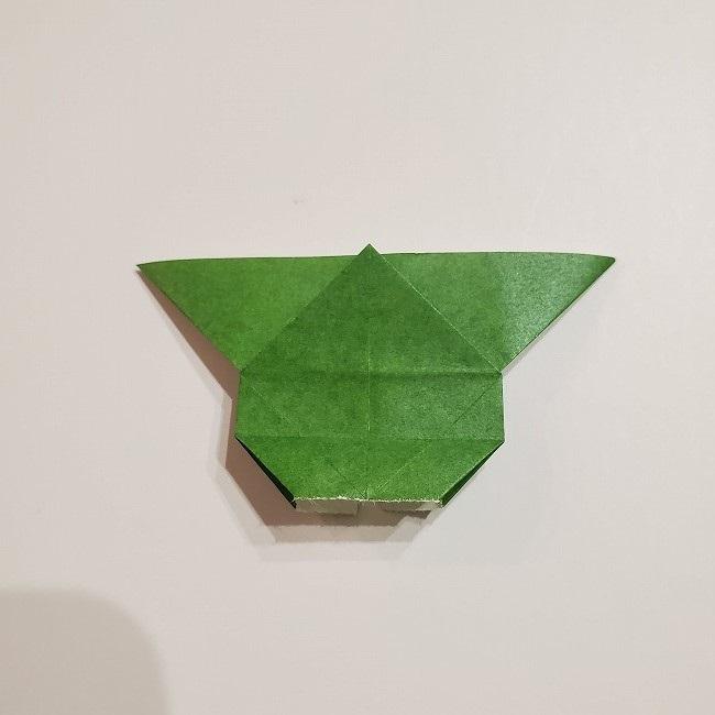 折り紙のクローバー(4枚ver)*折り方・作り方1葉っぱ (20)