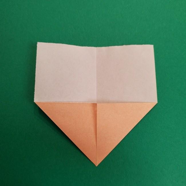 折り紙のサトシの作り方折り方1顔 (4)
