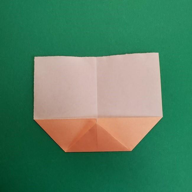 折り紙のサトシの作り方折り方1顔 (5)