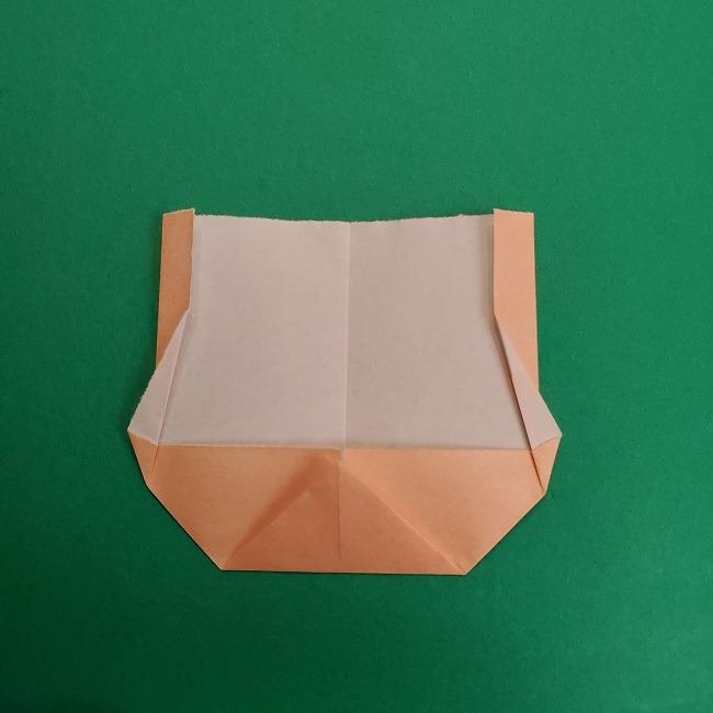 折り紙のサトシの作り方折り方1顔 (7)
