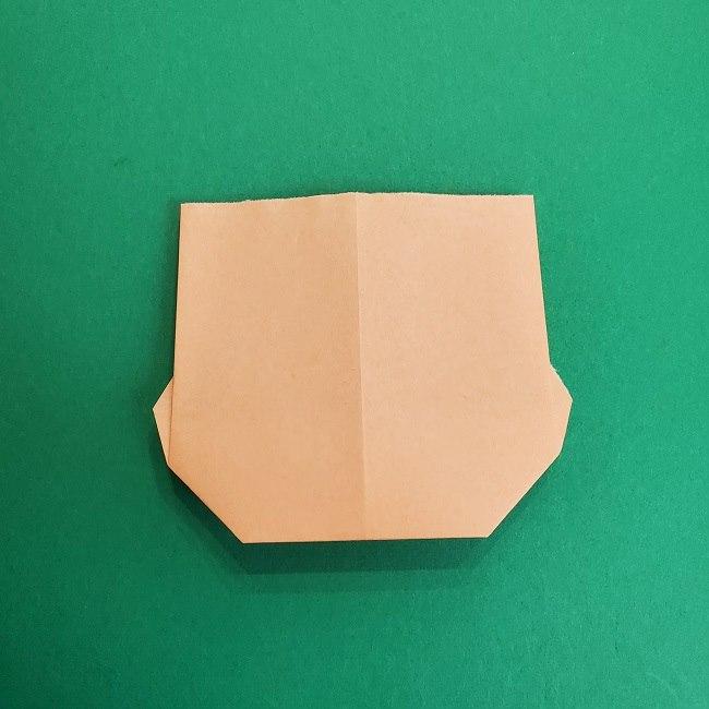 折り紙のサトシの作り方折り方1顔 (8)