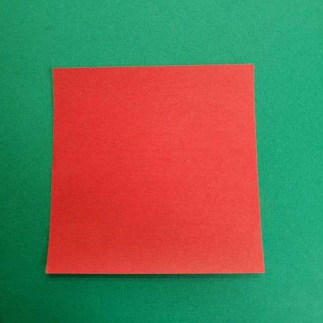 折り紙のサトシの作り方折り方2帽子 (1)