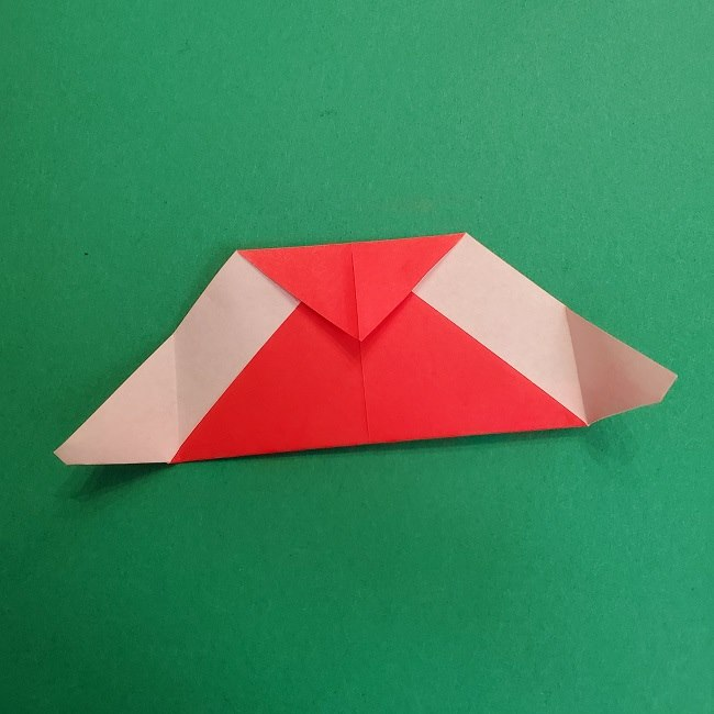折り紙のサトシの作り方折り方2帽子 (10)
