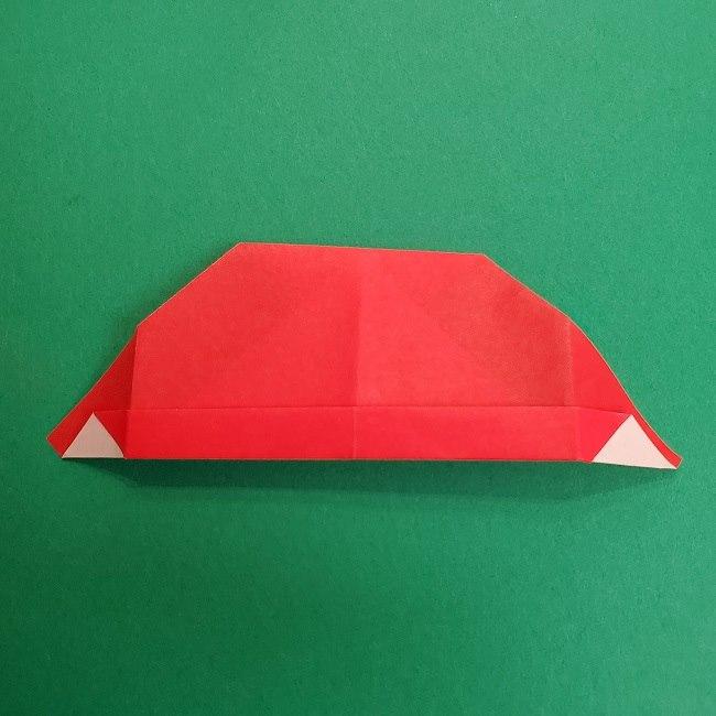 折り紙のサトシの作り方折り方2帽子 (11)