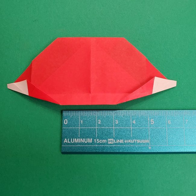 折り紙のサトシの作り方折り方2帽子 (12)