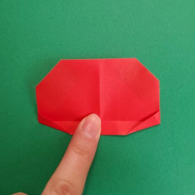 折り紙のサトシの作り方折り方2帽子 (13)