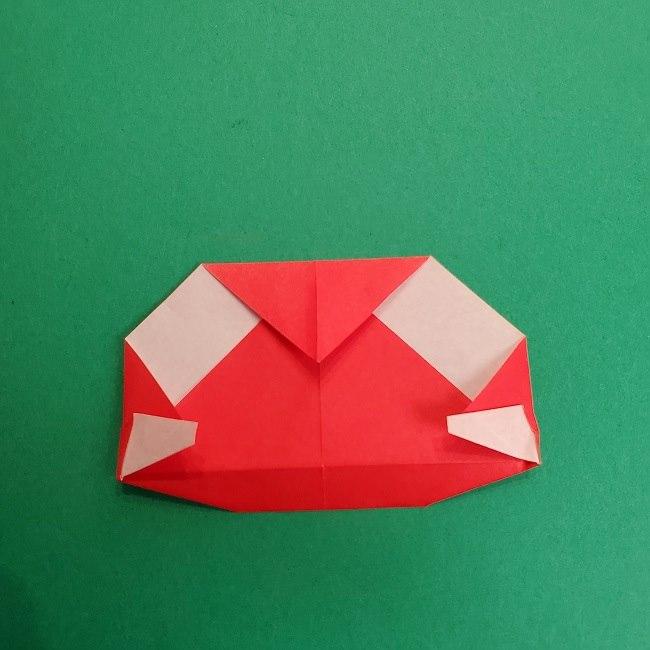 折り紙のサトシの作り方折り方2帽子 (14)