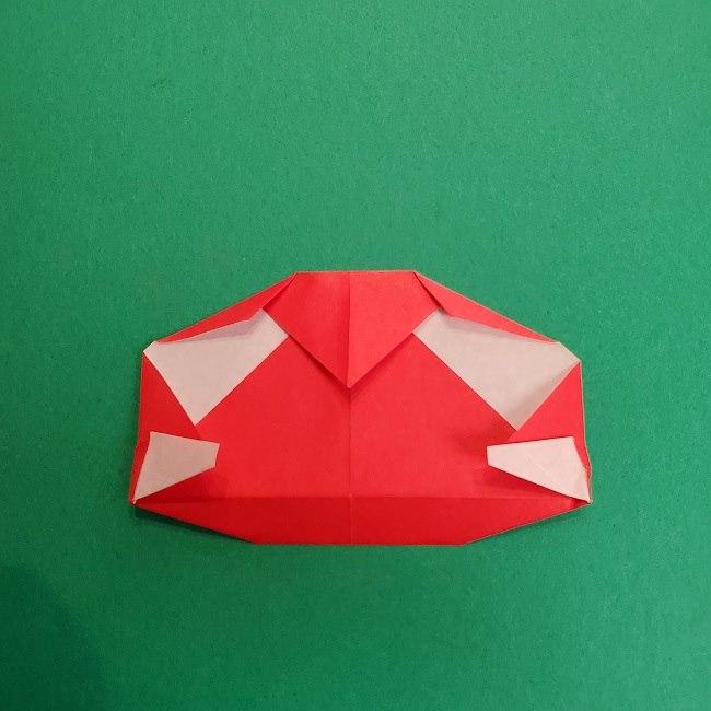 折り紙のサトシの作り方折り方2帽子 (15)