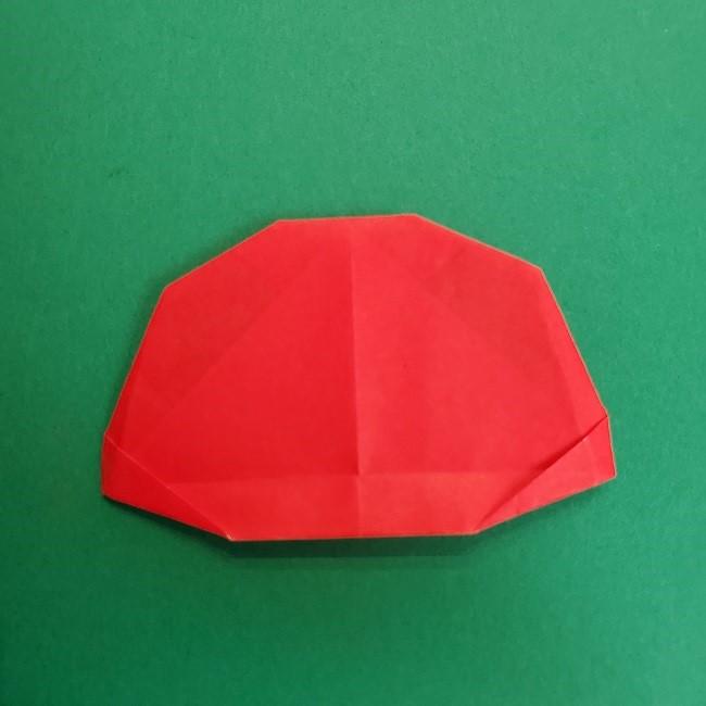 折り紙のサトシの作り方折り方2帽子 (17)