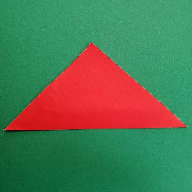 折り紙のサトシの作り方折り方2帽子 (2)