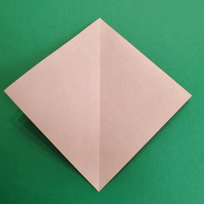 折り紙のサトシの作り方折り方2帽子 (3)