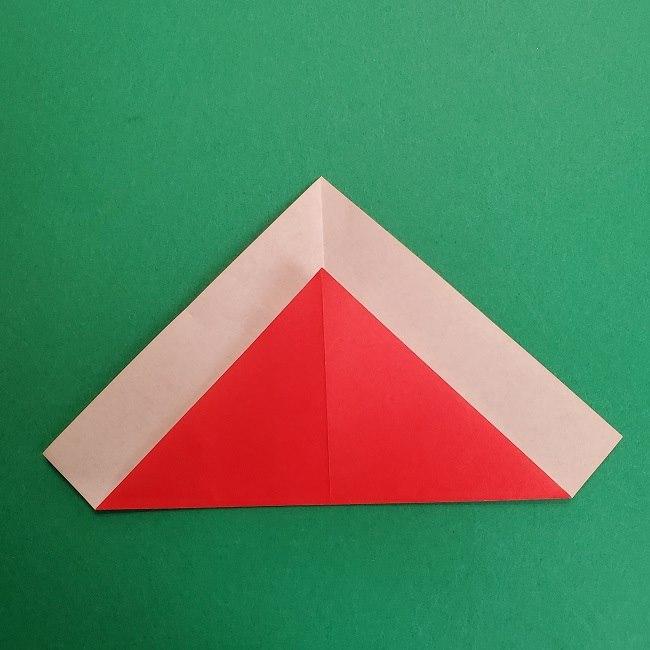 折り紙のサトシの作り方折り方2帽子 (4)