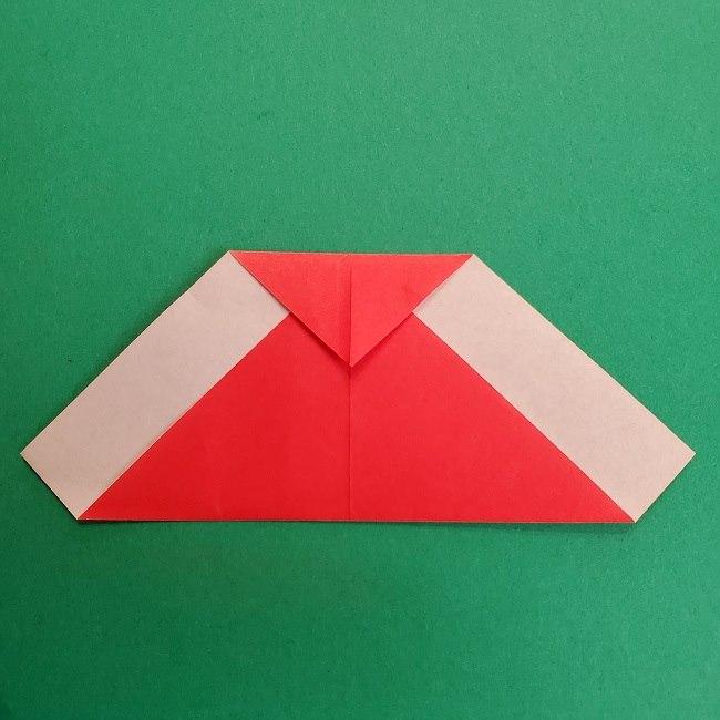 折り紙のサトシの作り方折り方2帽子 (5)