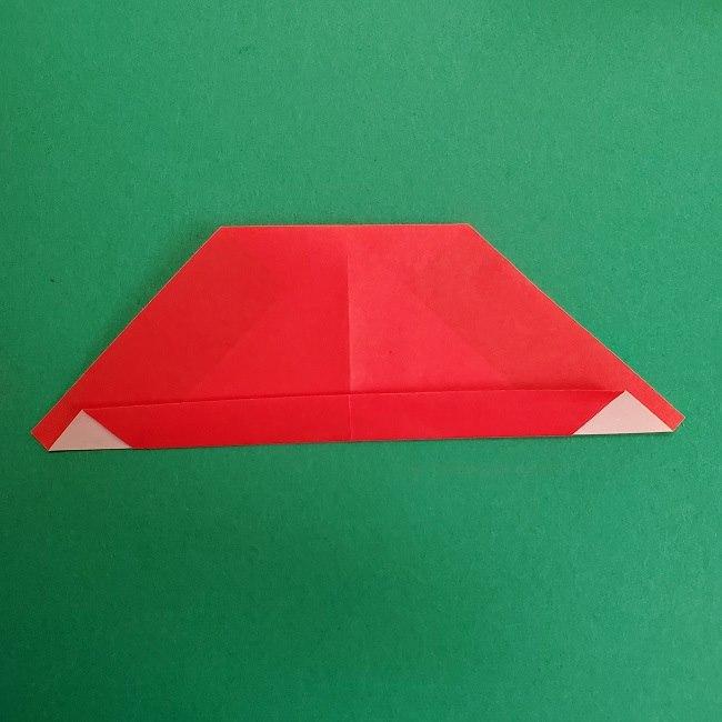 折り紙のサトシの作り方折り方2帽子 (7)