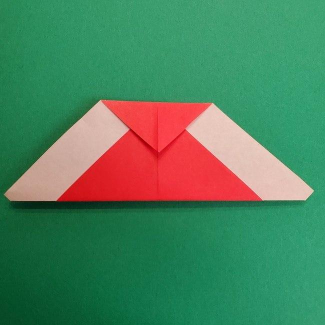 折り紙のサトシの作り方折り方2帽子 (8)