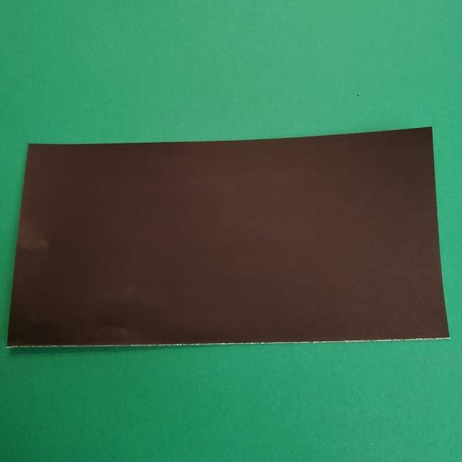 折り紙のサトシの作り方折り方3髪 (1)