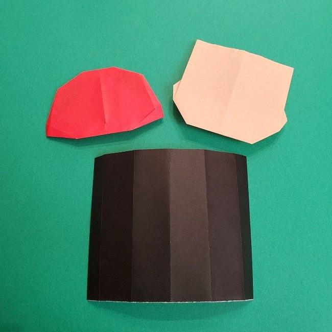 折り紙のサトシの作り方折り方3髪 (10)