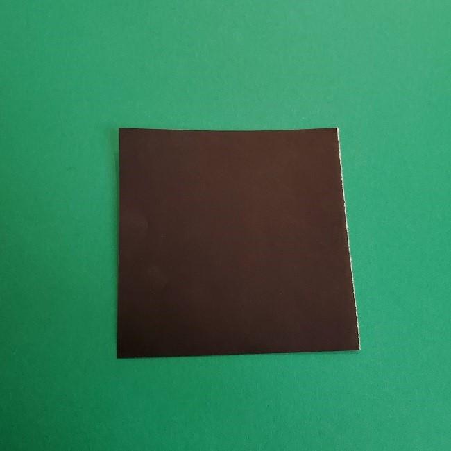 折り紙のサトシの作り方折り方3髪 (2)