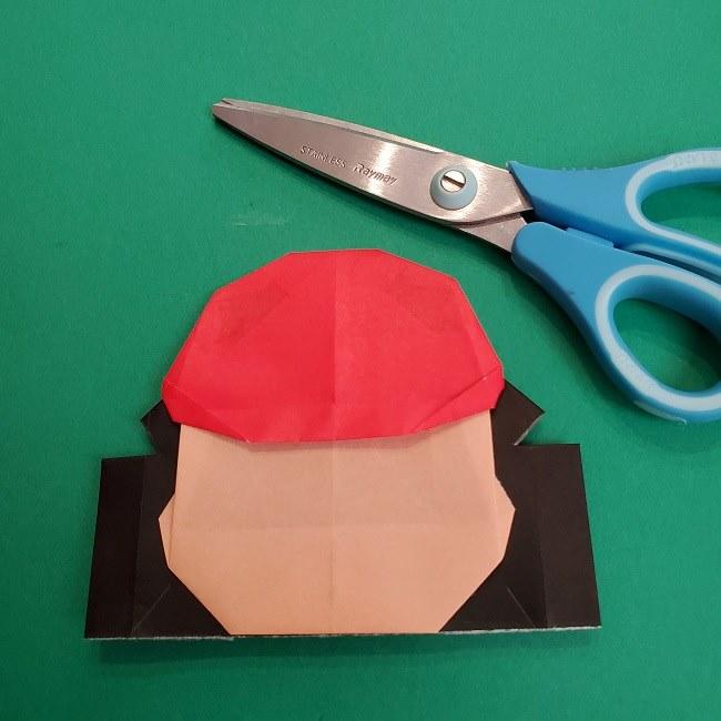 折り紙のサトシの作り方折り方4完成 (10)