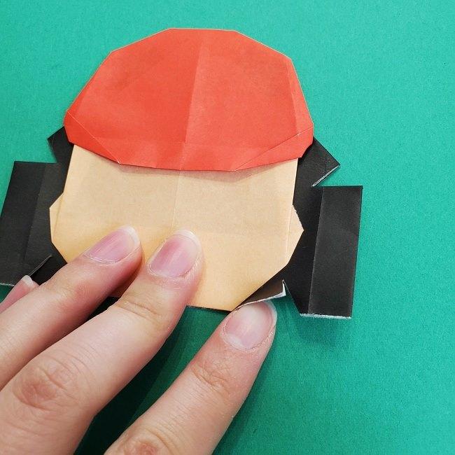 折り紙のサトシの作り方折り方4完成 (11)